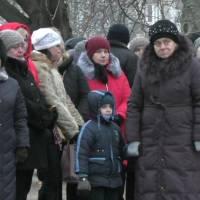 У Вільнянську вшанували пам'ять жертв голодомору в Україні. (24.11.2018)