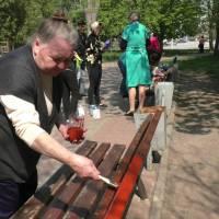 25 квітня у Вільнянську пройшла толока у парку Ювілейний, за ініціативою Вільнянської міської ради