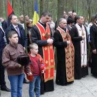 Поминальна Панахида, присвячена 65-ій річниці бою українських повстанців в урочищі «Морозівська»