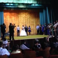 Урочитса реєстрація шлюбу подружжя Полячковських 12 серпня 2016 року