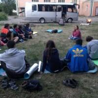Учасники волонтерського руху Допомагай і подорожуй Черкащиною