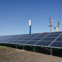 сонячні батареї на ВНС №3