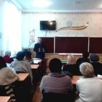 зустріч селищного голови та посадових осіб селищної ради з колективом  КЗ