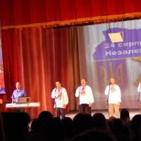 Гімн України у виконанні чоловічого вокального ансамблю