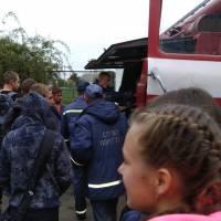 В Радомишльському професійному ліцеї рятувальники провели акцію
