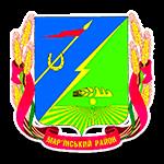 Герб - Мар'їнська районна рада