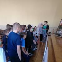 В рамках всеукраїнського тижневика з протидії булінгу учні закладу активно долучаються до виставки «СТОП ШКІЛЬНИЙ ТЕРОР» та «НАВЧИ ДОБРУ»
