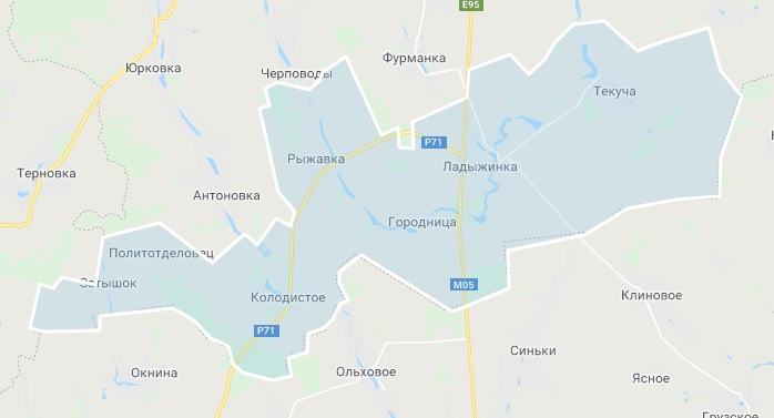 Карта громади