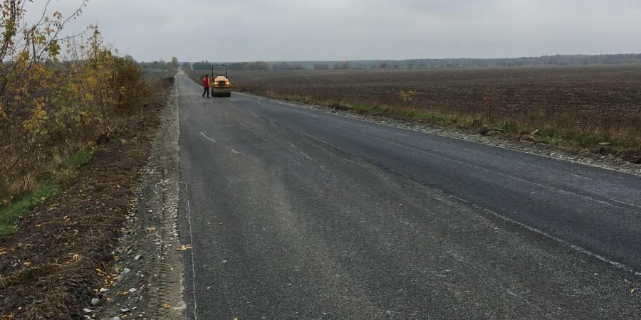 Завершено ремонтні роботи на автодорозі загального користування місцевого значення Колодисте - Політвідділовець – Затишок