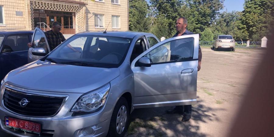 Придбано легковий автомобіль RAVON R4 для Рижавського МНВК Ладижинської сільської ради