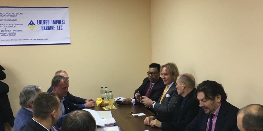 Ладижинську громаду відвідали міжнародні інвестори