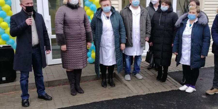 Урочисте відкриття новозбудованої амбулаторії загальної практики сімейної медицини в Ладижинській сільській територіальній громаді