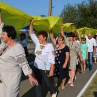 23 серпня  в  селі  Собківка   жителі Дмитрушківської  громади   привітали  один  одного  з національним святом з Днем Незалежності України.