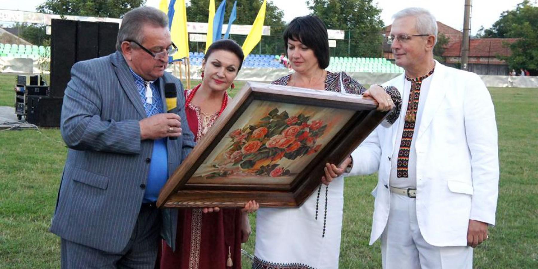Народна артистка України Надія Шестак на святкуванні Дня громади