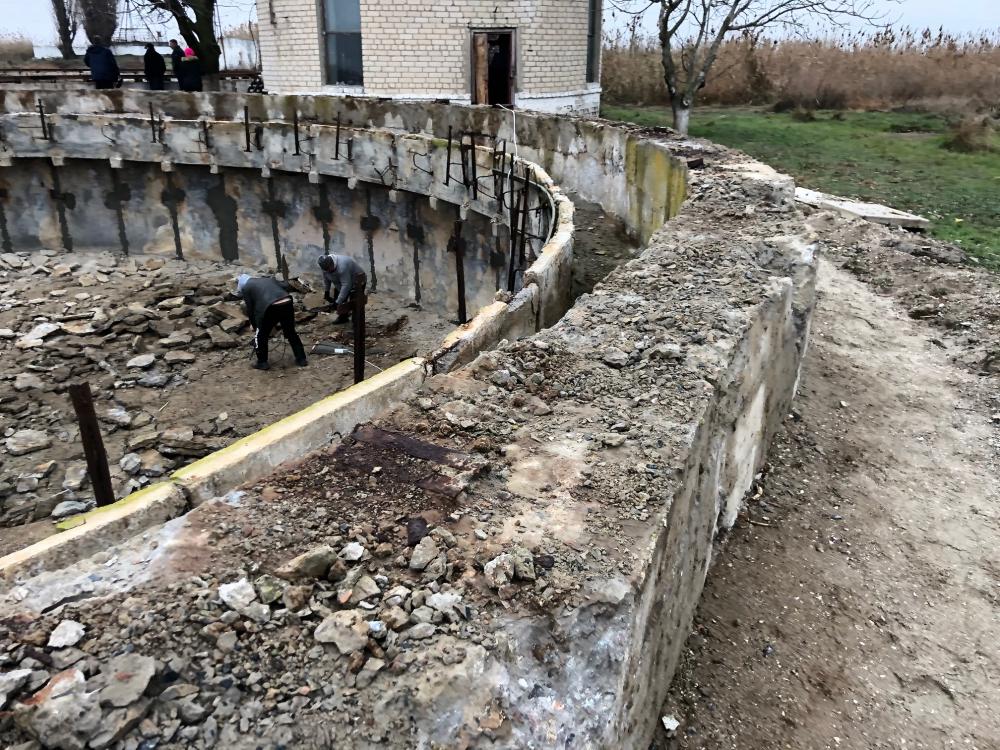 В Голой Пристани осваивают семь миллионов на очистных