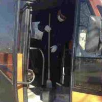 Проводяться заходи дезінфекції громадського транспорту та багатоквартирних будинків у місті