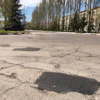 Ремонт дорожнього покриття у місті триває