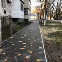 Реконструкція тротуарів міста триває