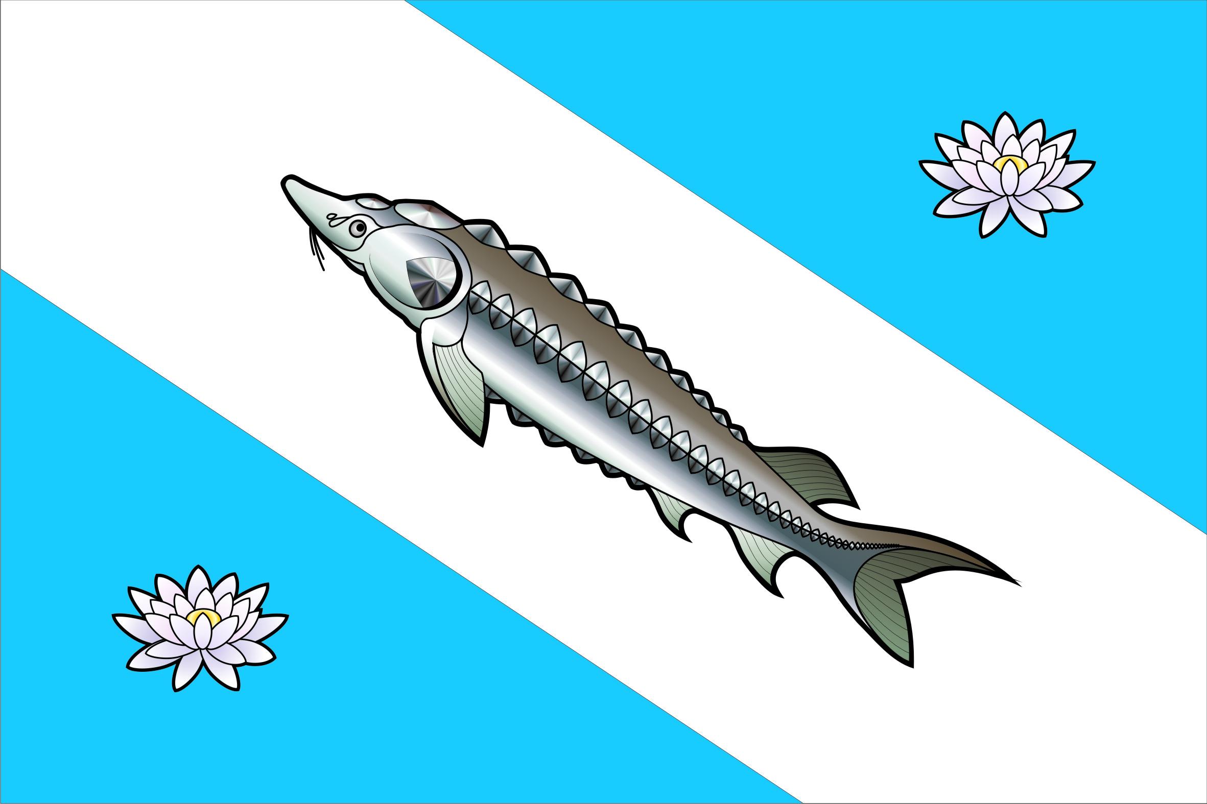 Прапор села Білозір'я