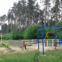 Дитячий майданчик в селищі Сокирна