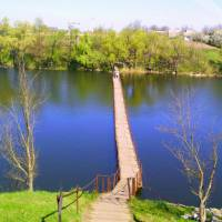 Перехід через річку Рось
