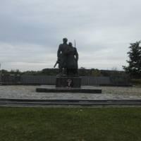 Меморріальний комплекс загиблим воїнам у роки Другої Світової війни в с.Дацьки