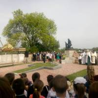 Виступ директора музею Івана Семеновича Нечуя-Левицького Андрія Сергійовича Хавруся