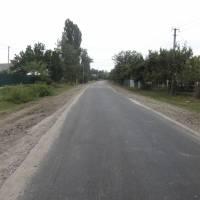 Вулиця Чіковані с.Яблунівка ( ділянка протяжністю 296 м після капітального ремонту)