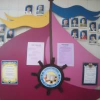 Шендерівський НВК І-ІІІ ступенів стенд із зображенням педагогічного колективу