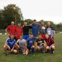 Футбольна команда від села Водяне!