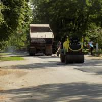 Ремонтні роботи на дорогах села