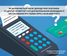 Обсяг дох. ФОП для РРО