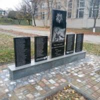 Відновлення пам'ятника ВВВ у с. Лубенці 1