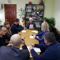 Відбулась зустріч з лідерами політичних партій, які брали участь у виборчому процесі та здобули перемогу у виборах 23 грудня