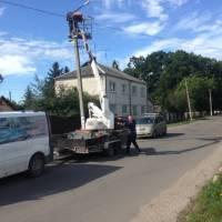 Поточний ремонт освітлення вулиць Кузнєцова, Філатова М. Бурака