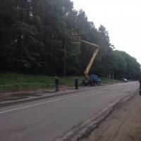 Капітальний ремонт освітлення вулиці Чкалова