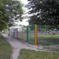 ремонт огорожі ясельних груп садочка №1