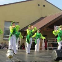 """Вихованці центру дитячої і юнацької творчості взяли участь у святі """"Обжинки"""" в гміні Пшиґодзіце"""