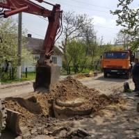 Поточний ремонт вулиці Козацька