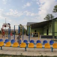 Дитячий майданчик, стадіон, СБК с. Тавричанка