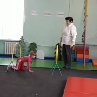 Спортивний захід у ДНЗ ясла-садку