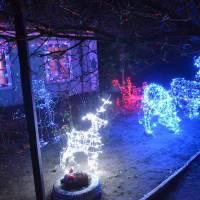 Фото подвір'я Дудкіна Валентина Валентиновича,  який посів друге місце в конкурсі