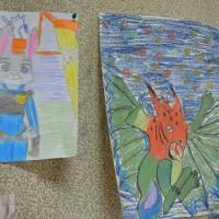 роботи юної художниці