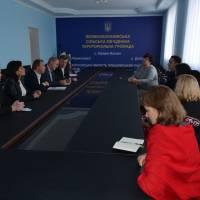 5/10/2017 Візит керівництва Програми співробітництва ЄС в Україні та директора Програми U-LEAD від GIZ
