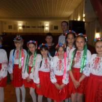 Участь  дитячого хореографічного колективу  с Щасливе в обласному фестивалі