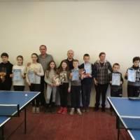 Відбувся міський турнір з настільного тенісу