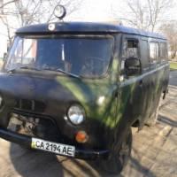 Перший УАЗ для АТО від леськівчан 13 квітня 2015 року