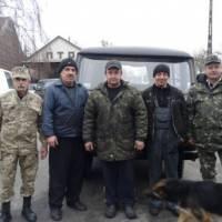 Другий УАЗ для АТО від леськівчан 17 листопада 2015 року
