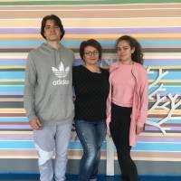 Катерина Боркелеш та Богдан Федор (11 клас, уч. Грига Н.В.)