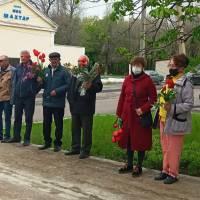 Віздначення 76-ї річниці Дня памяті та примирення і Дня перемоги над нацизмом у Другій світовій війні